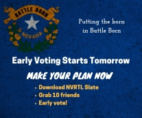 Early Voting Starts Tomorrow